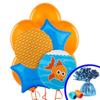 Goldfish Balloon Bouquet