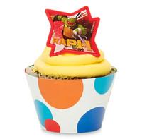 Teenage Mutant Ninja Turtles Cupcake Wrapper & Pick Kit