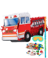 Fire Truck Pinata Kit