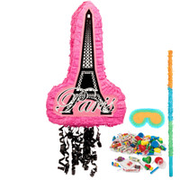 Paris Damask Pinata Kit