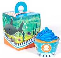 The Octonauts Cupcake Wrapper & Box Kit