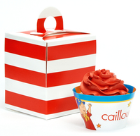 Caillou Cupcake Wrapper & Box Kit