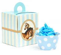 Ponies Cupcake Wrapper & Box Kit