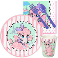 Pink Poodle in Paris Snack Party Pack