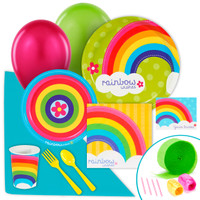 Rainbow Wishes Value Party Pack