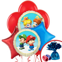 Super Mario Bros. Babies Balloon Bouquet