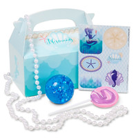 Mermaids Under the Sea Filled Party Favor Box (Pack of 4)