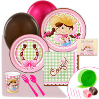 Pink Cowgirl Value Party Pack