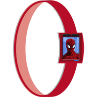 Spider Hero Rubber Wristbands