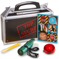 Secret Agent Party Filled Favor Box