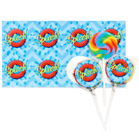 Splashin' Pool Party Lollipop Favor Kit