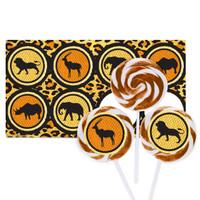 Safari Animal Adventure Large Lollipop Kit