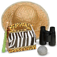 Safari Adventure Party - Party Favor Box (Pack of 4)