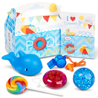 Splashin' Pool Party - Filled Party Favor Box