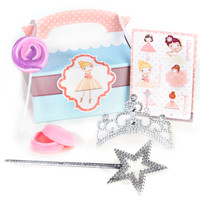 Ballerina Tutu Filled Party Favor Box (Pack of 4)