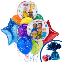 Caillou Balloon Bouquet