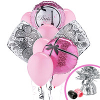 Paris Damask Balloon Bouquet