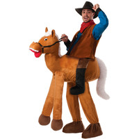 Ride a Horse Pull-On Pants Adult Costume