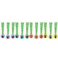Sesame Street Party Assorted Medals