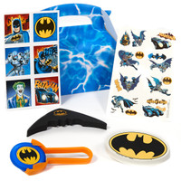 Batman Heroes and Villains Filled Favor Box (Pack of 4)