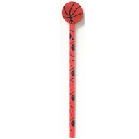Basketball Pencil with Eraser
