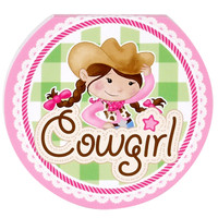Pink Cowgirl Notepads