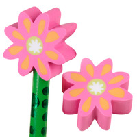 Flower Eraser Toppers