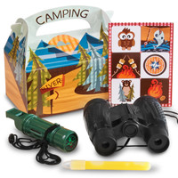 Let's Go Camping Filled Favor Box (Pack of 4)