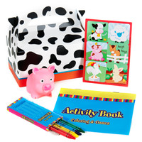 Barnyard Party Filled Favor Box