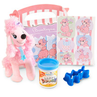 Pink Poodle in Paris 2nd Birthday Party Filled Favor Box