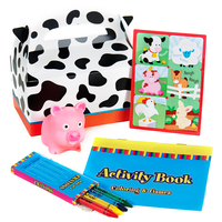 Barnyard 2nd Birthday Party Filled Favor Box