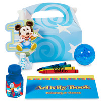 Mickey 1st Birthday Filled Favor Box (Pack of 4)