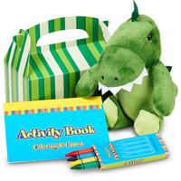 Little Dino Filled Favor Box (Pack of 4)