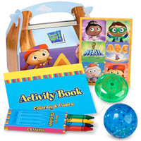 Super Why! Filled Favor Box (Pack of 4)