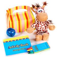 Giraffe Filled Favor Box (Pack of 4)