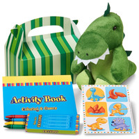 Little Dino Filled Favor Kit (Pack of 4)