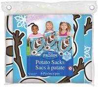Disney Frozen Potato Sacks