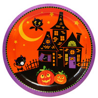 Trick or Treat Halloween Dinner Plates (8)