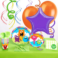 Monsters Deluxe Party Pack