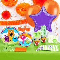Monsters Super Deluxe Party Pack