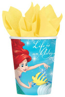 Disney Ariel Dream Big 9oz Paper Cups (8)