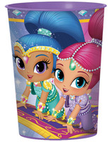 Shimmer & Shine  16 oz. Plastic Cup