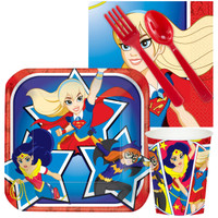 DC Super Hero Girls Snack Party Pack