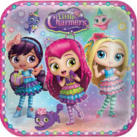 """Little Charmers 9"""" Dinner Plates"""