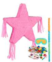 Pink Star Pinata Kit