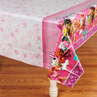 Pink Paw Patrol Girl Theme Tablecover