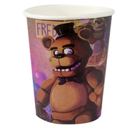 Five Nights at Freddy's 9oz Paper Cups (8)