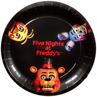 Five Nights at Freddy's Dinner Plates (8)