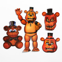 Five Nights at Freddy's Freddy Cutouts (4)