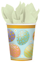Golden Easter Paper Cups